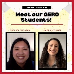 Meet our GERO Students!