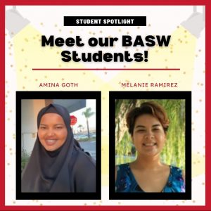 Meet our BASW Students