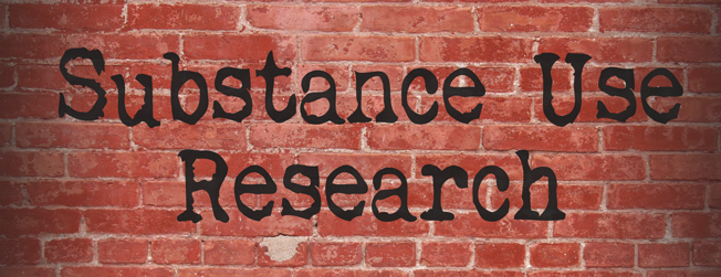 substance use research, addiction