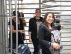 LSSWA delegates at the US-Mexico border crossing