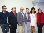 SDSU and faculty members from the Excuela de Trabajo Social de Tijuana meet with staff from the Fundacion Proteccion a la Ninez in Tijuana
