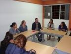 LSSWA members meet students from the School of Social Work in Tijuana
