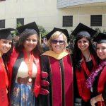Professor Melinda Hohman with new SSW Alumni