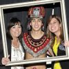 Guests celebrated with the SDSU Aztec Warrior!