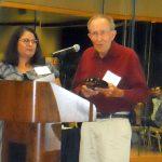 Steve Manos Accepts Lifetime Achievement Award