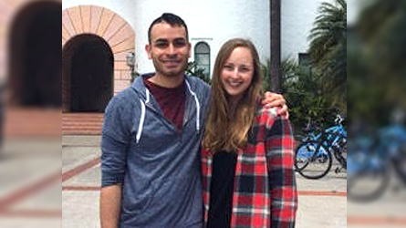 Student Spotlight - Caitlin Zahlis and Alex Tanon
