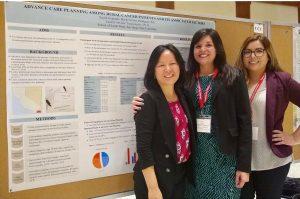 Dr. Eunjeong Ko, Nayeli Gonzalez, and Viviane Rodriguez