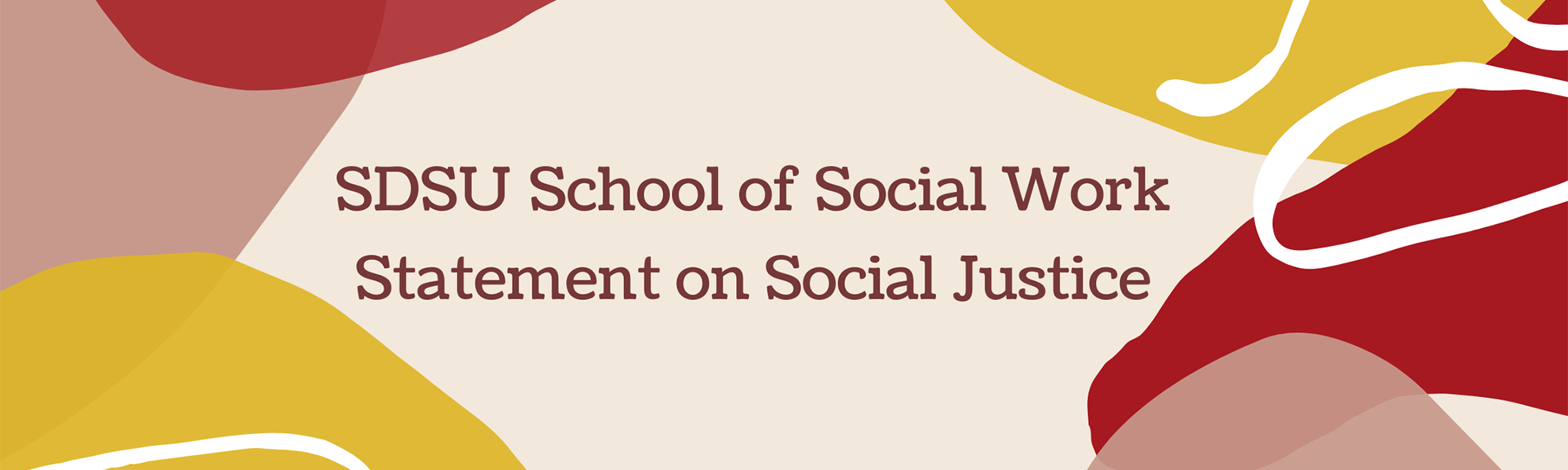 Statement on Social Justice