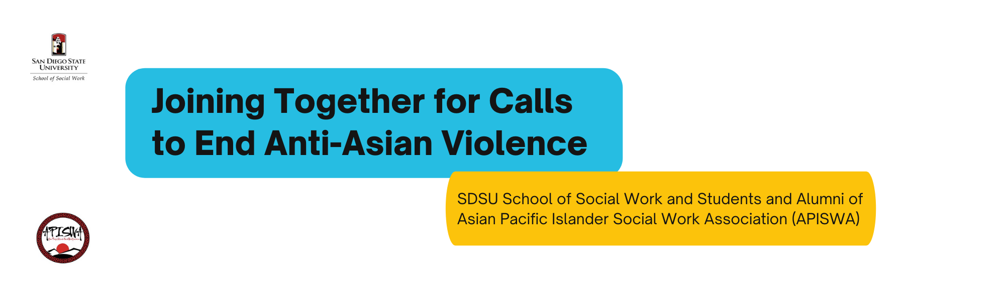 Joining Together for Calls to End Anti-Asian Violence