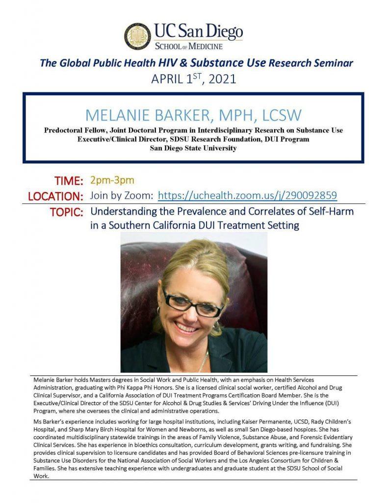 Melanie Barker Flyer (please download pdf to view content)