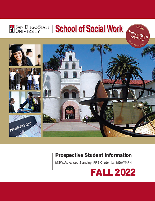 Cover of prospective student brochure