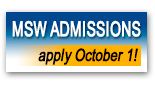 MSW Admissions